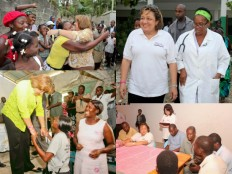 Surprise visits of Sophia Martelly-Added COMMENTARY By Haitian-Truth