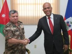 Haïti - Politique : Le Président Martelly rencontre le Roi de Jordanie, Abdullah II