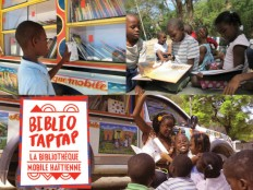 Haiti - Culture : Fundraising for the 3rd BiblioTaptap in Haiti