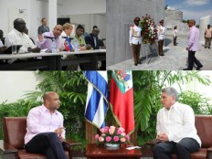 Haiti – Cuba : End of the official visit of Prime Minister Lamothe