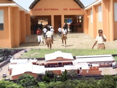 Haiti - Education : Inauguration of National Lycée of Dondon