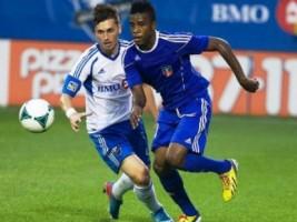 Les Grenadiers gagnent contre l'impact de Montréal (2-0).Grenadye alaso. G-8853