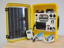 Solar Suitcase for Health Care