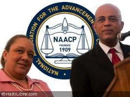 Haïti - Politique : Le Président Martelly et son épouse à la 104ème Convention du NAACP