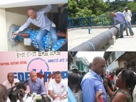 Haïti - Reconstruction : Travaux d'infrastructure d'eau potable au Cap-Haïtien