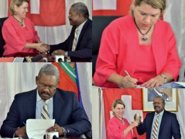 Haiti - Environment : Signing of an agreement of nearly 6 million with Switzerland