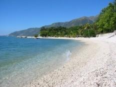 Haïti - Cayes : Aménagement de la route d'accès à la plage de ...