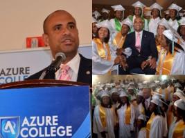 Haïti - Diaspora : Le Premier ministre, invité d'honneur à la Cérémonie de graduation de Azure College