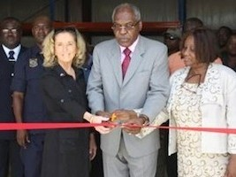 Haiti - Security : Inauguration of 10th COUD in Haiti