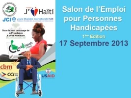 Haiti - Social : First Job Fair for People with Disabilities
