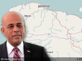 Evaluation Tour of President Martelly in Grand Anse