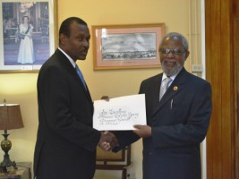 Haiti - Diplomacy : Guy Lamothe new Ambassador of Haiti to Belize