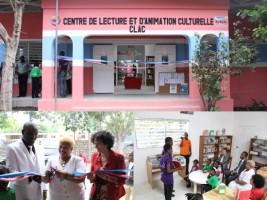 Haïti - Culture : Inauguration du Centre de lecture de Dessalines