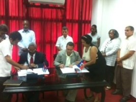 Haiti - Environment : Signature of a Cooperation Agreement in the Forestry sector