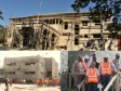 Haiti - Politic : The Villa d'Accueil and the new base of CIMO under construction