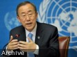 Haiti - Politic : Message from Ban Ki-moon...