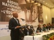 Haiti - Education: The President Martelly launches the National assizes on the Quality of Education