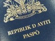 Haiti - Social : Gradual recovery in the production of passports