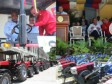 Haiti - Agriculture : Presentation of the first batch of Agricultural equipment of Venezuela