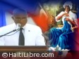 Haiti - Flag Day : In Arcahaie, President Martelly addresses the Nation