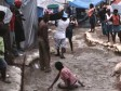 Haiti - Social : The displaced person asking decent housing