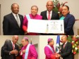Haiti - Diplomacy : Mgr Bernardito Cleopas Auza decorated by the President Martelly