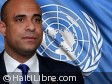 Haiti - Politic : Prime Minister Lamothe in New York