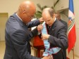 Haiti - Diplomacy : The President Martelly decorates of the National Order, the Ambassador of Argentina