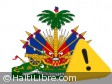 Haiti - NOTICE : Minister is warning protesters and organizers...