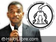 Haiti - Elections : Max Mathurin calls stakeholders to find a favorable outcome