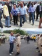 Haiti - Reconstruction : The President Martelly at Wharf Jérémie and to the new premises of CIMO