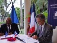 Haiti - Education : Signature of an university agreement between France and Haiti