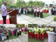 Haiti - Politic : Martelly honored the emergency staff of the accident of 2015 Carnival