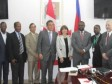 Haiti - Agriculture : Tripartite Agreement to support the financing and agricultural insurance