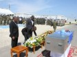Haiti - Social : Last tribute to the Chilean peacekeeper killed in Ouanaminthe