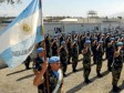 Haiti - Security : The Argentine contingent of Gonaives, is about to leave Haiti