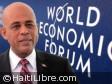 Haïti - Politique : Le Président Martelly participera au Forum économique mondial