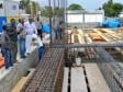 iciHaïti - Reconstruction : Rotchild François en tournée de chantiers