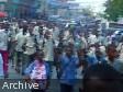 iciHaïti - Éducation : Les écoliers prennent le béton à Petit-Goâve