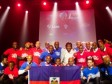 Haiti - Sports : A Haitian team of Ball Hockey at the World Championship