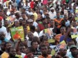 Haiti - Elections : Leslie Voltaire, big campaign launch