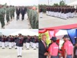 Haiti - Army : Swearing and graduation of the Army Corps of Engineers