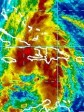 Haiti - Tomas : Last positions of the hurricane