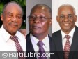 Haiti - FLASH : 3 candidates competing for the position of Provisional President (Official)