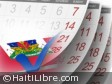 Haiti - FLASH : Electoral timetable in 1 month 1/2