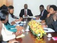 Haiti - Elections : Meeting of the Head of State with the members of CEP