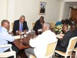 Haiti - Politic : The Head of State met with representatives of the new communes