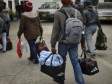 Haiti - Social : Stampede of thousands of illegal Haitians in Chile