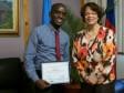 Haïti - Social : Lauréat du Prix du jeune Journaliste haïtien