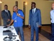 iciHaiti - Security : Delivery of materials to the committees of the Civil Protection